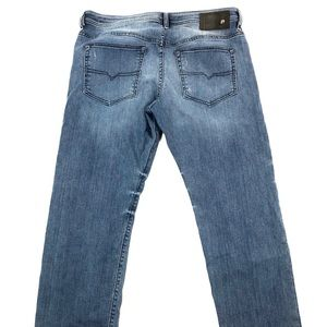 Diesel Mens Buster Slim Tapered Jeans 36x30
